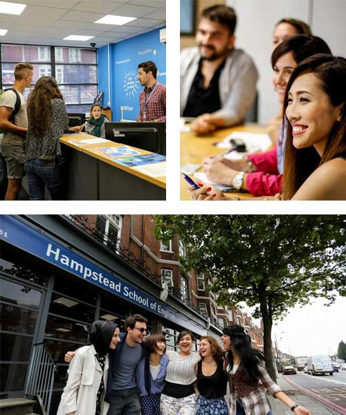 Cursos de Inglés en Hampstead School of English