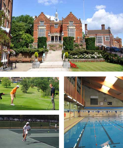 Curso de Inglés con tenis y golf en Harrow House Londres