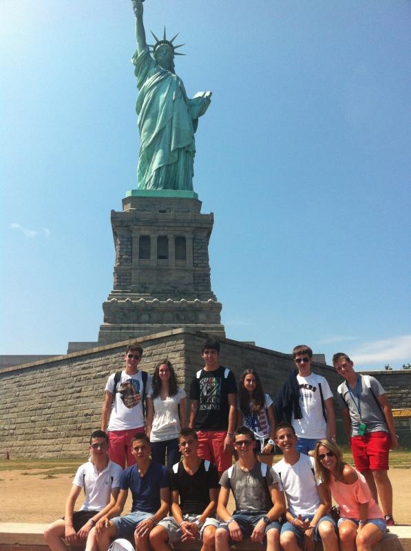 Grupo en Nueva York verano 2012