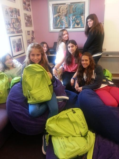 Estudiantes de inglés en Epsom