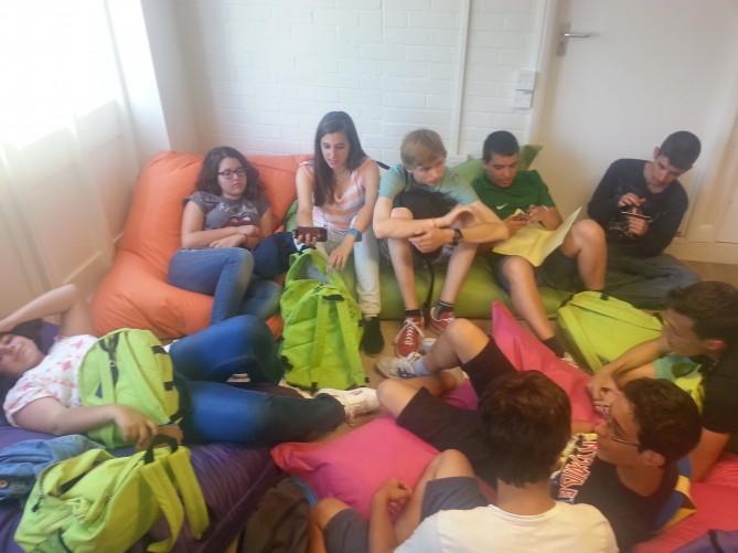 Relax entre clases en Totnes