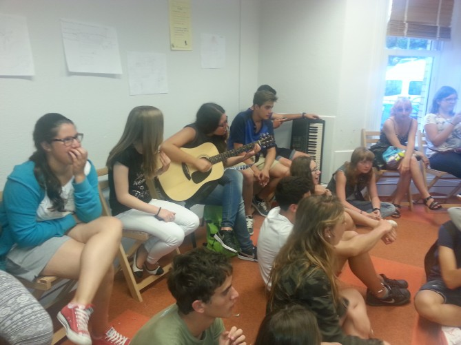 Acitividad musical en Totnes
