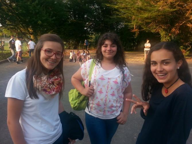 Estudiantes de TEC en Totnes