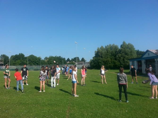 Deportes con los jóvenes