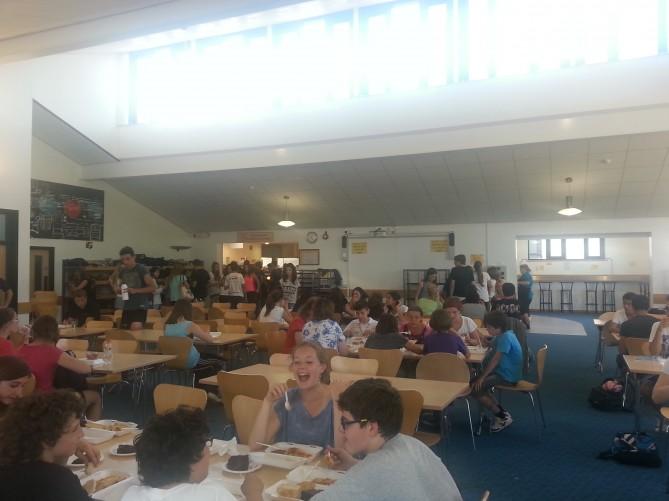 Comedor de la escuela en Totnes