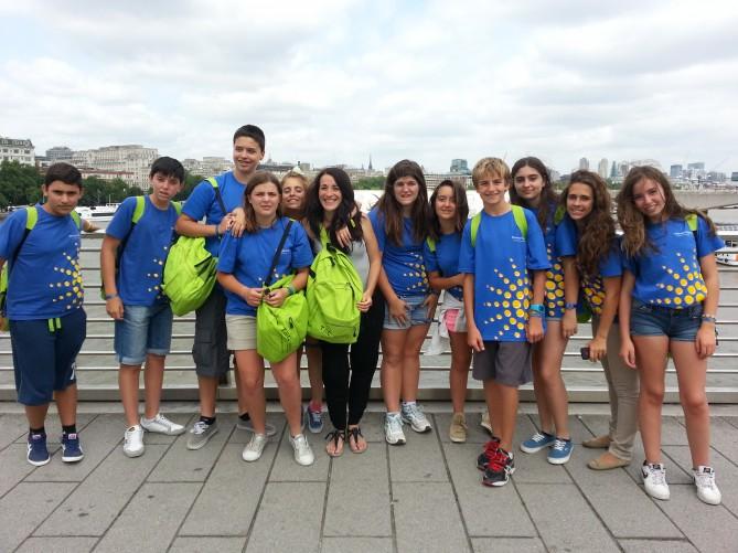 Grupo visita a Londres