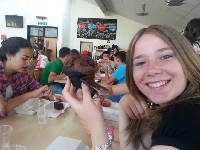 pastelería de Totnes