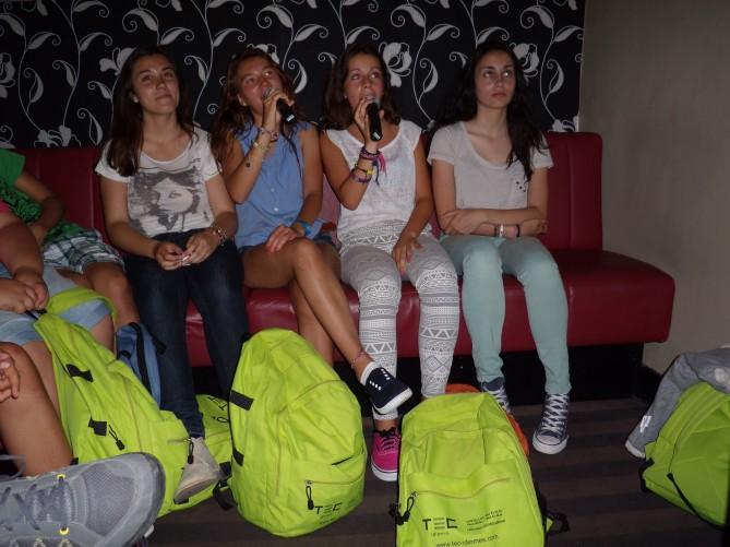 las chicas en accion