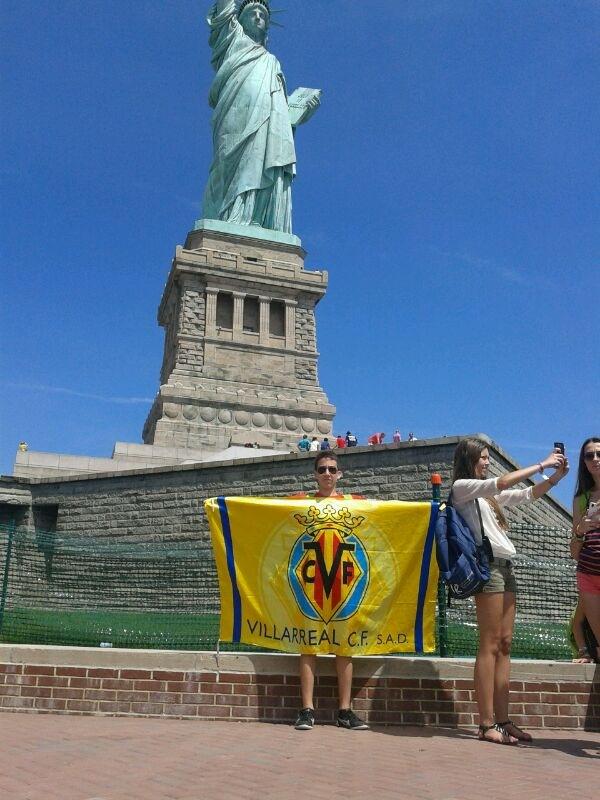 Bandera de Vila-real FC en Nueva York
