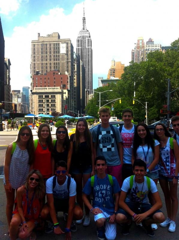 Tec Idiomes - Estudiantes en Nueva York