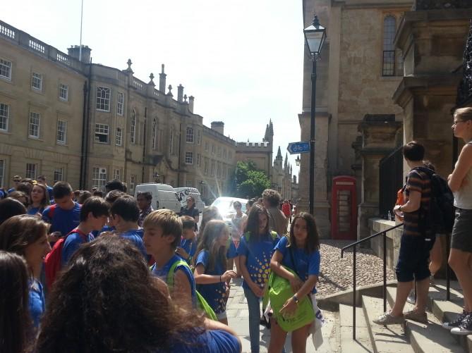 Estudiantes de Tec Idiomes en Oxford