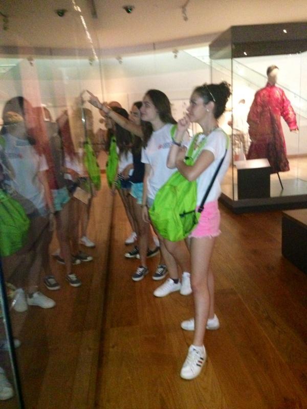 Alumnos de TEC en el Ashmolean Museum