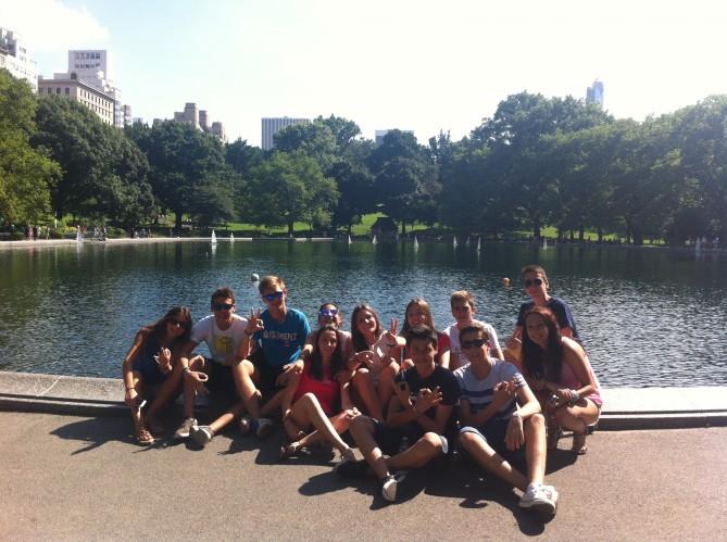 Descanso en Central Park