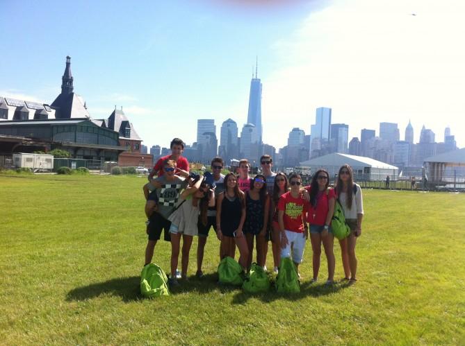 Estudiantes de TEC en Central Park Nueva York