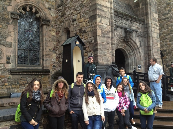 Castillo Edimburgo.