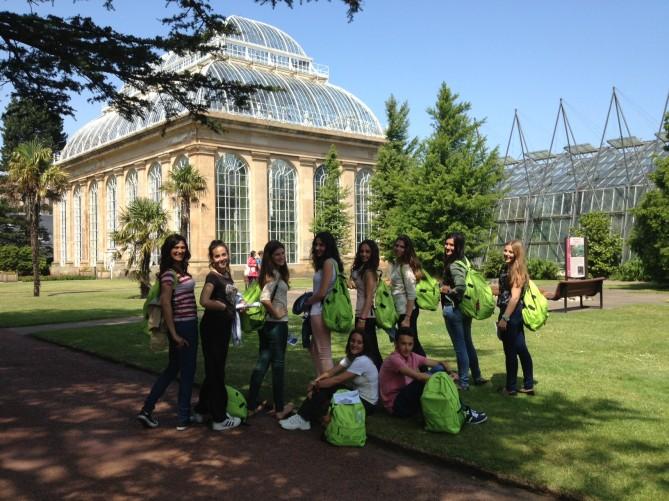 Shining in edinburgh blog tec idiomes for Jardin botanico edimburgo