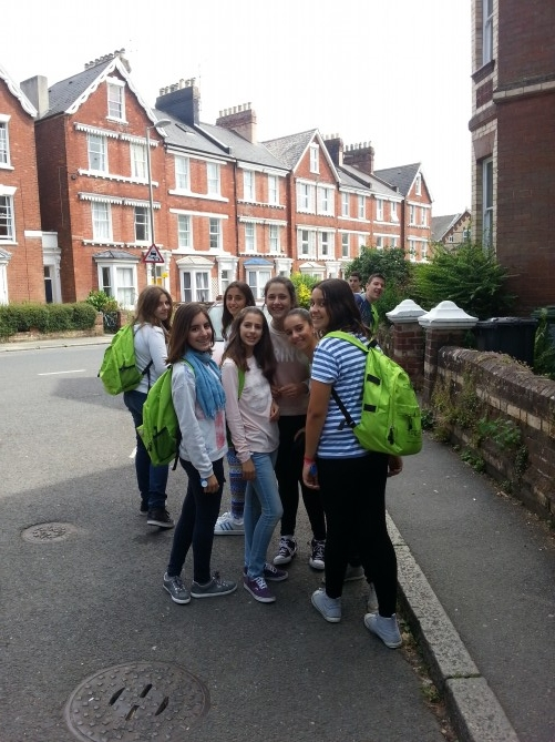 Nuestros alumnos de excursión al centro de Exeter