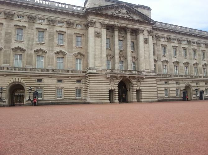 Visitando Buckingham Palace