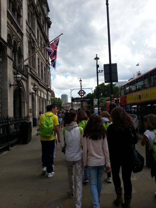 Nuestros alumnos de TEC Idiomes por las calles de Londres