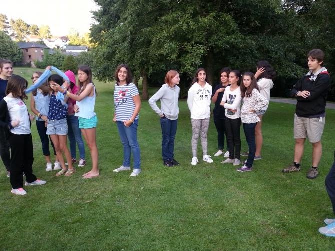 El grupo que eligió la actividad de Zagamore