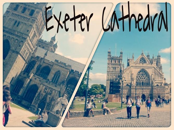 Alumnos de Tec Idiomes en la catedral de Exeter
