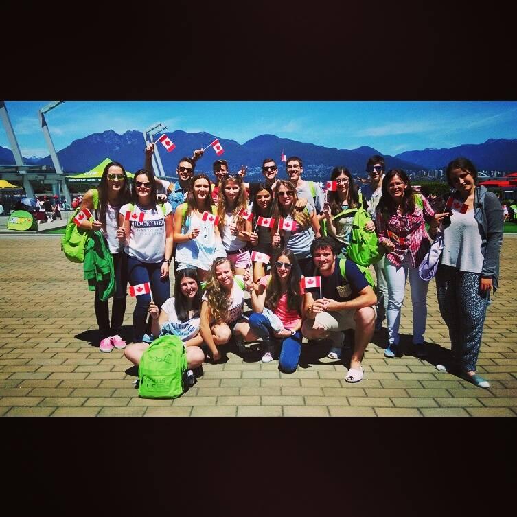 Estudiantes de Tec Idiomes en Vancouver