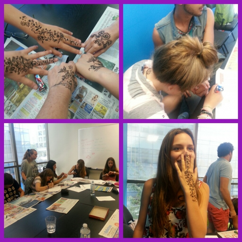 taller henna vancouver