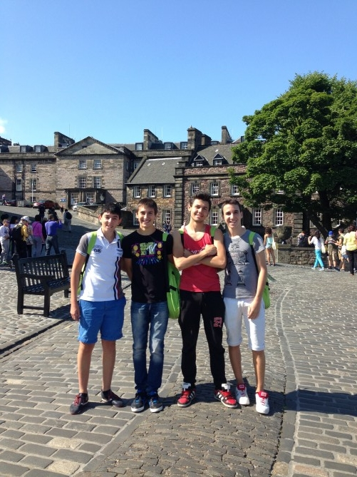 Tec castillo Edimburgo