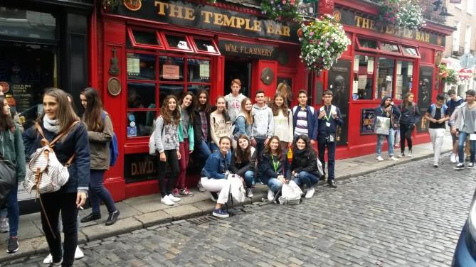 Pub típico irlandés más famoso de la zona.
