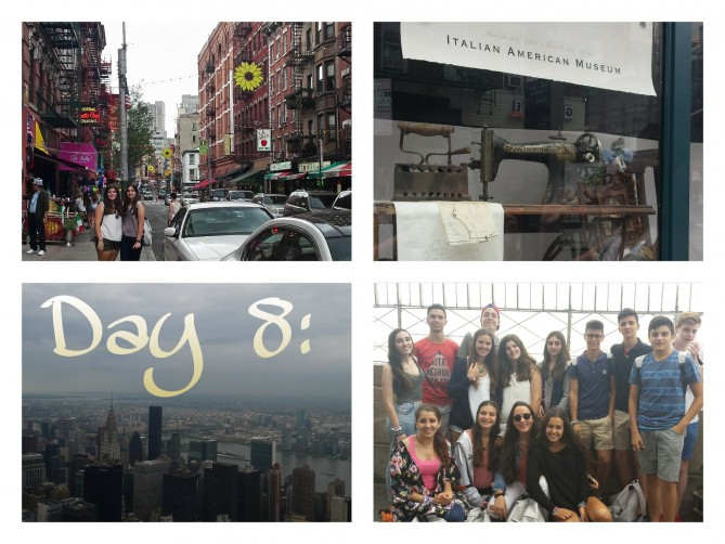 visita inolvidable de nuestros alumnos/as de TEC al Empire State Building