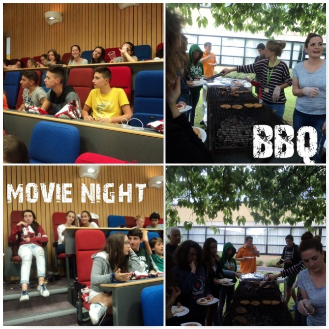 BBQ & movie night