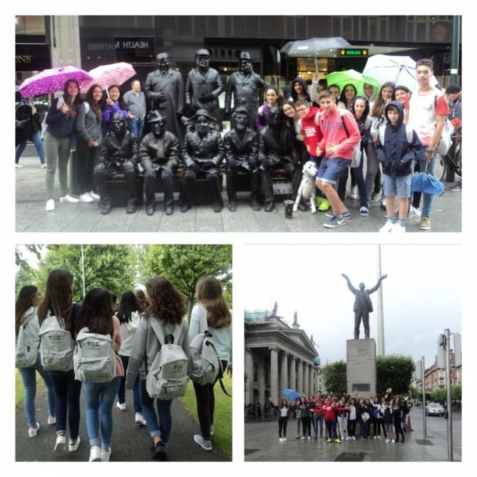 De excursión en Dublin