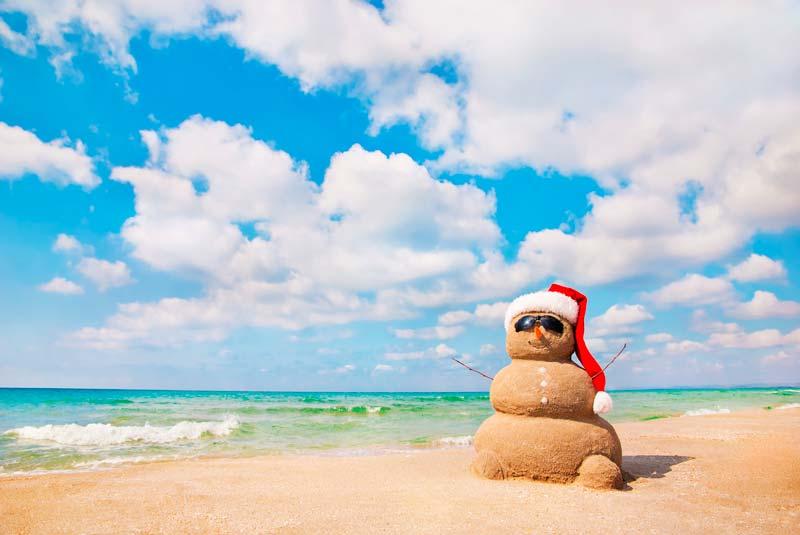 Viajar a Australia, navidad en la playa, australia navidad