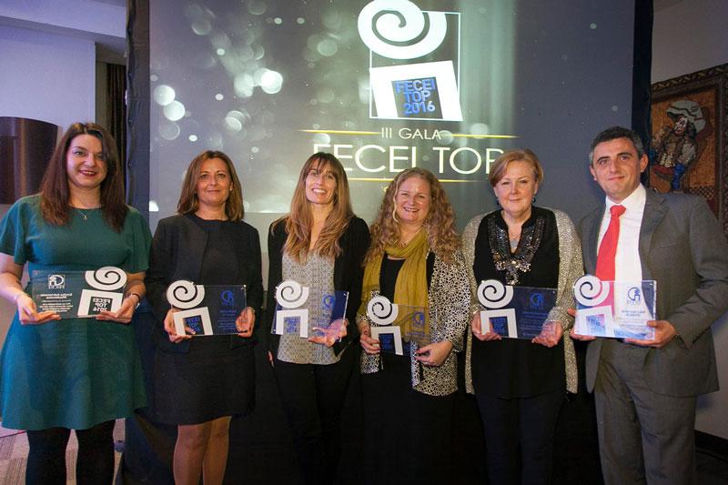 Premio FECEI TOP Trayectoria Profesional a Maite Mulet directora de TEC Idiomas