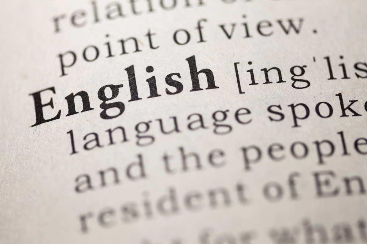 origen idioma ingles