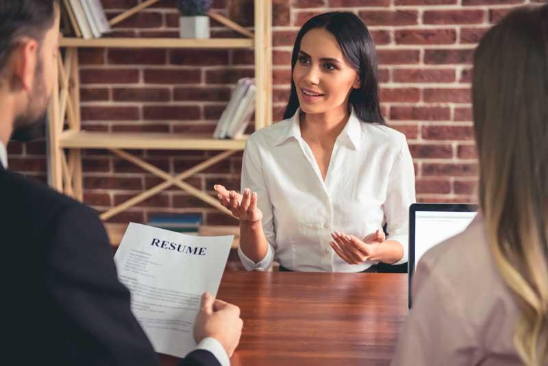 cómo hacer entrevista de trabajo en inglés